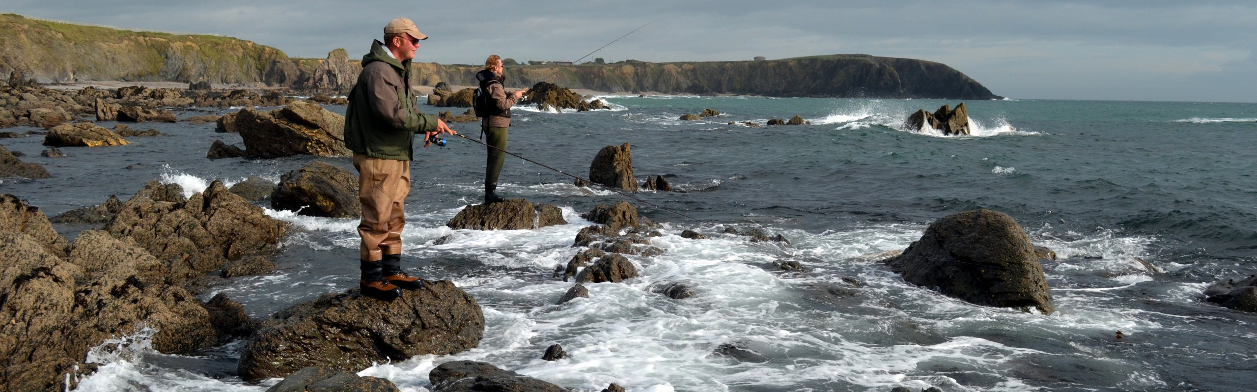 Bass fishing in ireland