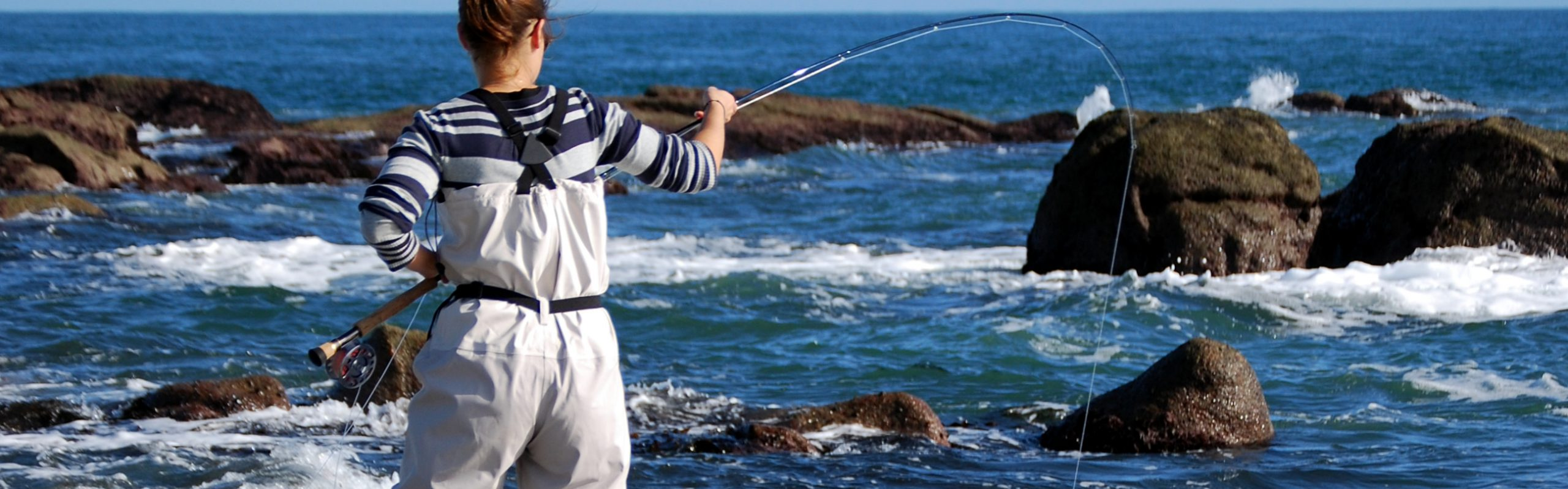Developing leaders thirtyards for Saltwater fishing leader